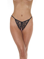 Open Tanga - black - One Size