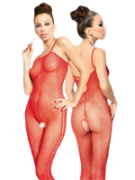 Catsuit Flora - red