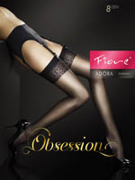 Fiore - Sheer Stockings Adora Tan