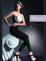 Fiore - Leggings Anette Black