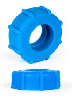 Burning Wheels 100% Silicone Cockring CK08 Blue