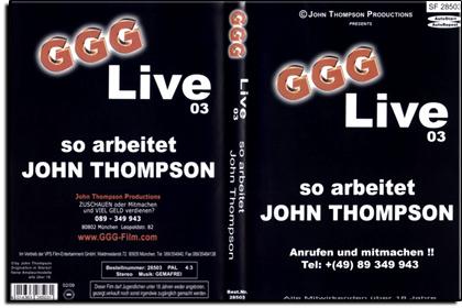 GGG - Live Nr. 03 - So arbeitet John Thompson