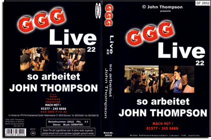 GGG - Live Nr. 22 - So arbeitet John Thompson