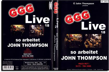 GGG - Live Nr. 18 - So arbeitet John Thompson