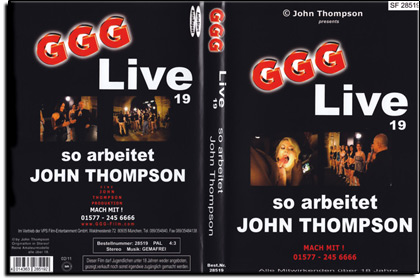 GGG - Live Nr. 19 - So arbeitet John Thompson