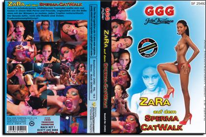 Zara auf dem Sperma Catwalk
