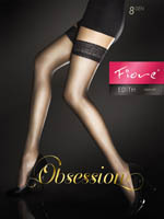 Fiore - Sheer Hold-Ups Edith White