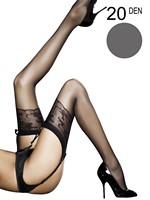 Fiore - Sheer Stockings Jordana Grey