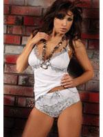 Livia Corsetti - Shirt Set Irys White