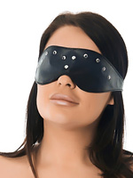 Eye-Mask decorated with Rivets