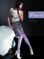 Fiore - Gloss Tights Raula Plum