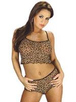 Rimba - Leopard Pattern Top Set