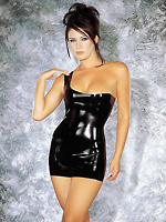Sharon Sloane - Uptown Girl Latex Dress