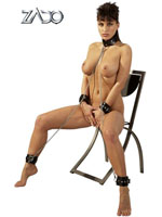 ZADO - Leather Hand, Foot and Neck Cuffs Set All-Over
